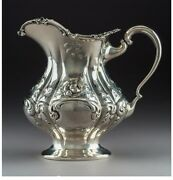 A077 A Mauser Manufacturing Co. Silver Water Pitcher New York Circa 1890