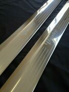 Daimler Xjc Coupe Door Sills Tread Kick Plates Stainless Etched Daimler Coupe