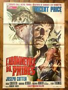 Poster Italian Movie Memorabilia The Abominable Dr Phibes Fuest Price Horror 2sh