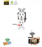 1080p Wifi Full Hd Wall Ac Outlet Hidden Spy Camera Audio Voice Video Recorder