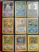 Pokemon Vintage Collection With 1st Edition And Shadowless Description