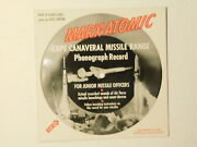 Marx-atomic Play Set Record Cape Canaveral Missile Range Picture Record