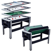 Lancaster 4-in-1 Bowling Hockey Table Tennis Pool Arcade Combo Arcade Game Table