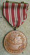 Us Marine Corps Medal 1912 Nicaraguan Campaigng.w.studleytype 1930s