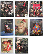 8 Book Lot Crafts Leisure Arts Spirit Of Christmas 1 3 4 6 7 And Remembered 3 4 6