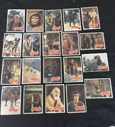 1975 Topps Planet Of The Apes Lot Of 20 Mexican Card Very Rare Variatio