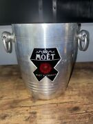 Vintage French Moet And Chandon Champagne Cooler Wine Ice Bucket Made In France