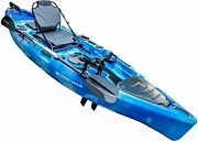 Fishing Pedal Kayak For Anglers 11 | Sit On Top Or Stand | 500lbs Capacity For