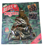 Vintage Mr.christmas Bells Of Christmas 10 Musical Lighted Bells 21 Song Tested
