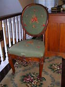 Antique Rare Carved Parlor Chair 1800-1899 Beautiful Chair For Display