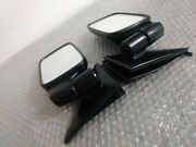 Bmw 5 E12 Black Exterior Mirror Side Mirror Left And Right Side With Gaskets
