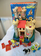 Fisher Price Little People Play Family Castle 993 Complete With Box