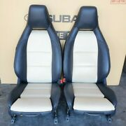 2015-2019 Mercedes-benz X156 Gla250 Seat Set Front Left And Right - Beige / Black