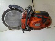 Husqvarna K970 14and039and039 Ring Concrete Saw Gas Power Cutter Handheld