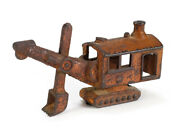 Antique Hubley Toy Cast Iron Steam Shovel Heavy Construction Machinery 1562