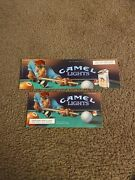 Vintage Joe Camel Advertisement Small Posters Camel Light Pool Table 2 Size 1992