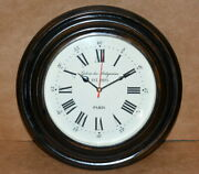 Antique Vintage Wall Clock Collectible Wooden 12 Decorative Wall Clock Good Gft