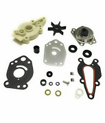 For Mercury Mariner 2 And 4 Stroke 6 8 9.9 15hp Water Pump Impeller Kit 46-42089a5