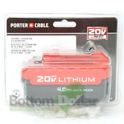 Porter Cable Pcc685l 20 V Max Lithium-ion 4 Ah Battery