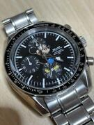 Vintage Beams Mickey Mouse Chronograph Menand039s Watch Quartz Used Authentic