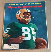 Max Mcgee Green Bag Packers Super Bowl I Sports Illustrated January 23, 1967