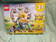 New Lego Creator 3in1 Ferris Wheel 31119 Building Toy With 5 Minifigures Tl2