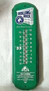 Rolling Rock Premium Beer 27 Sign Thermometer © 1999 Latrobe Brewing Co.