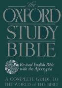The Oxford Study Bible Revised English Bible With Apocrypha 9780195290004