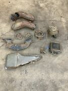1957 Chevy Belair 210 150 Heater System Parts Lot.