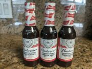 Budweiser Brewmaster's Premium Honey Barbecue Sauce 6oz 3 Pack Bbq