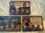 2009 Lincoln Anniversary Cent Collection Littleton Coin Co. 3 Sets