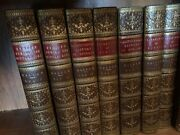 Antique Leather Books Titled Andldquoeurope During The Middle Ages.andrdquo