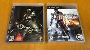 Ps3 Game Set Demonand039s Souls Battlefield 4 From Japan