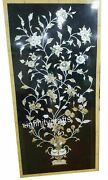 Elegant Look Marble Center Table Marquetry Art Marble Wall Panel 24 X 48 Inches