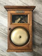 Antique Gamewell Fire Alarm Telegraph Great Condition New York