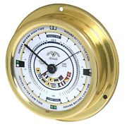 Altitude 858sfim Tidenuhr Signal Flags Polished Brass 4 29/32in