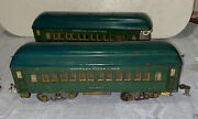 Lot Of 2 American Flyer Standard Gauge Cars For Model Train Dad Had Since 1928