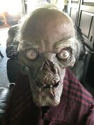 Gemmy Halloween Life Size Crypt Keeper Spencerandrsquos 1996 Moves And Has Sound