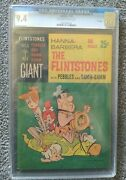 Flintstones With Pebbles And Bamm Bamm 1 Cgc 9.4 Oww 11/65 File Copy
