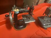 Girls Sewing Machine Collection Singer Mistress Straco Betsy Ross