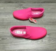 New Opening Ceremony Transparent Clear Bright Pink Skate Men's Us Size 10