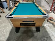 Great American Pool Table 7' Coin Operated