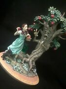 Franklin Mint Wizard Of Oz Dorothy And The Wicked Apple Tree Figurine 2000 Read