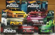 Hot Wheels Fast And The Furious Set Of 5 Original Fast