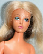 Vintage 1975 Ideal Tuesday Taylor Changing Hair Color Doll--near Exc