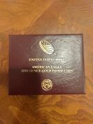American Eagle 2021 One Ounce 1 Oz Gold Proof Coin 21eb Us Mint Limited Edition