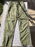 British Army 1960 Pattern Og Trousers Rare Size 8very Good Condition See Desc