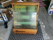 Vintage Hanson Drill Bits Wood Store Display With Lots Of Bits