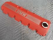 Bmw E30 325is M20b25 Oem Detailed Red Crinkle Powder Coated Valve Cover '88-91
