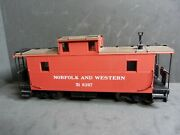 Division Point O Scale Norfolk Western Late Steel Cg Caboose. 2rail.